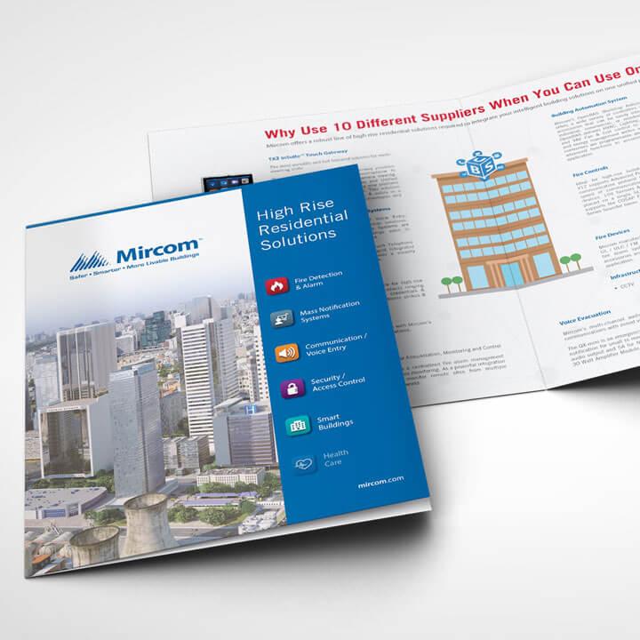 Vertical Brochures