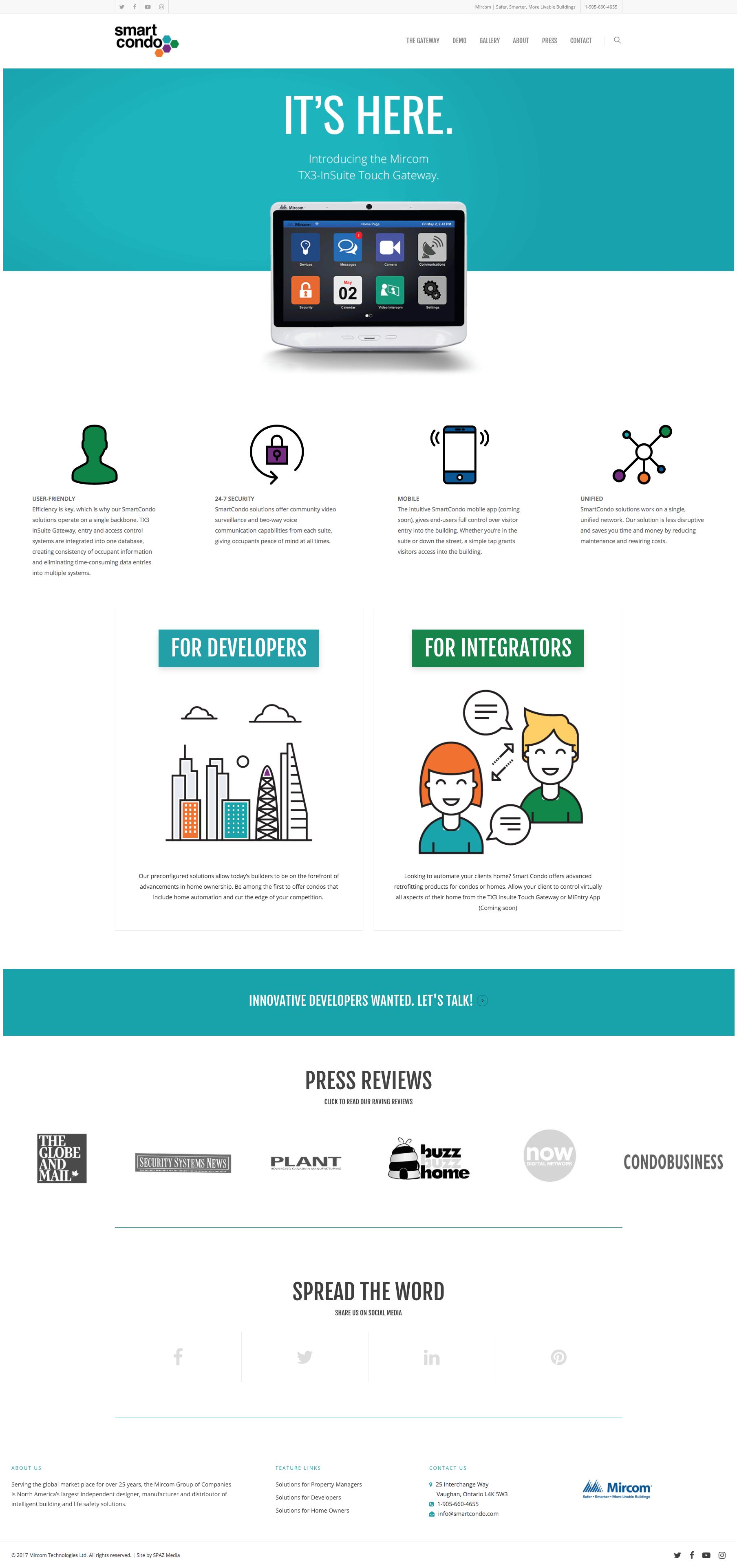SmartCondo_Homepage